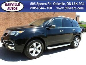 2012 Acura MDX AWD 7 PASSENGER SAFETY WARRANTY INCL