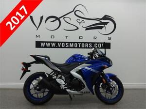 2017 Yamaha YZF-R3-Stock#V2783- **Free Delivery in the GTA