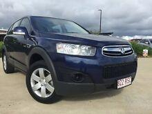 2011 Holden Captiva CG Series II 7 SX Blue 6 Speed Semi Auto Wagon Garbutt Townsville City Preview