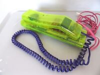 SWATCH Neon Green Swatch Phone late 80's(No sensible offer refused)