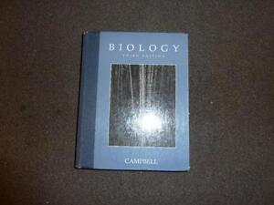 Biology manual by Campbell 3rd edition