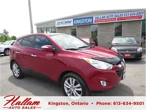 2010 Hyundai Tucson Limited, Panoramic Sunroof, All Wheel Drive