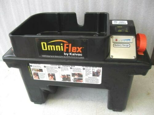 KAIVAC Omniflex Battery Box Assembly with battery - 0 hours on meter