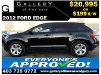 2012 Ford Edge SE $199 bi-weekly APPLY NOW DRIVE NOW