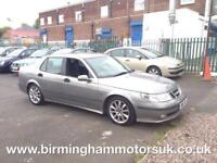 2003 (03 Reg) Saab 2.3 TURBO HOT AERO AUTOMATIC 4DR Saloon GREY + LOW MILES