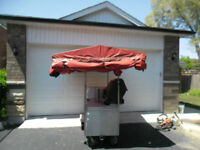 ***************hot dog cart with cover**************