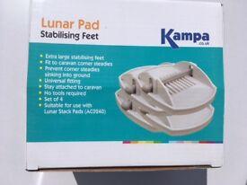 Lunar Pad Stabilising Feet for caravan. Set of 4.