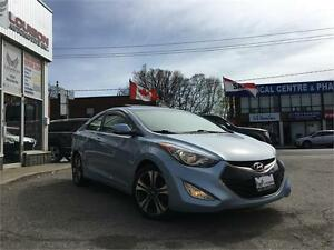 2013 Hyundai Elantra Coupe GLS, NAVI, ALLOYS, BCK UP CAM ++