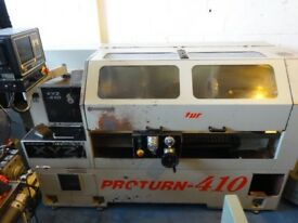 XYZ PROTURN 410 SEMI CNC TEACH LATHE YEAR 1998 LX3 CONTROL