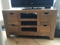 Beautifu Mango Wood TV unit