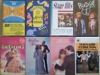 A-Z CSL M FERGUSON BUDGIE SILVER SCREEN MOVIE THEMES STAGE HITS KING & I WALTZES CASSETTE TAPES