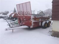 NEW HOLLAND 195 PULL TYPE MANURE SPREADER
