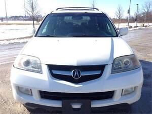 2004 Acura MDX w/Tech Pkg,PW,PL,AC,LEATHER,7-PASS,SUNROOF