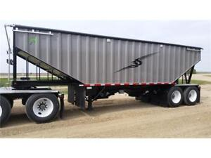 NEW EMERALD 36' 2-HOPPER GRAIN TRAILERS