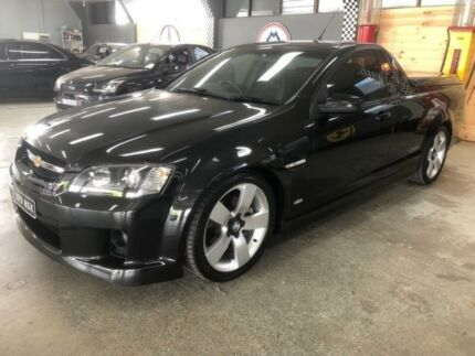 2009 Holden Commodore VE MY09.5 SS Black 6 Speed Manual Utility Fyshwick South Canberra Preview