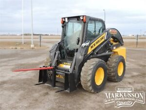 HLA Single Bale Spear for Universal Skid Steer Attachment