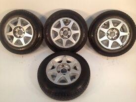 Ford motorsport rs 13'' 4x108 alloy wheels classic, not ats lenso, borbet, AEZ