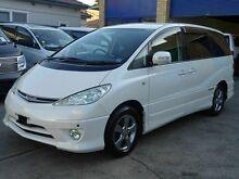 2005 Toyota Estima Premium Power Doors White 4 Speed Automatic Wagon Caringbah Sutherland Area Preview
