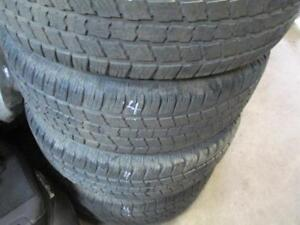 245/70R17 SET OF 4 USED IRONMAN A/S TIRES