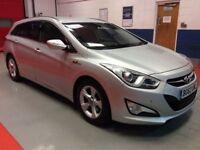 2013 Hyundai i40 1.7 CRDi Style 5dr Estate ** FSH, £30 RD TAX, LONG MOT ** not ford mondeo insignia