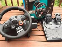 Driving Force GT, steering wheel and pedals for PS3 Beecroft Hornsby Area Preview