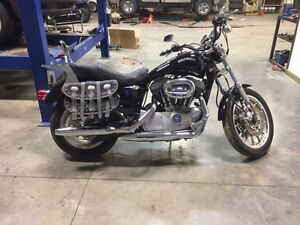 Harley Davidson XL1200R Sportster for sale! ONLY 4,854 kms!