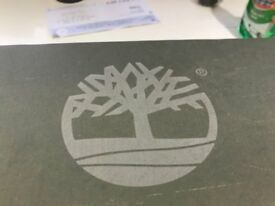Grey Timberland Boots Size 3 UK