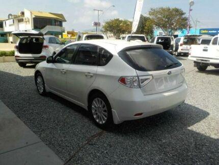 2011 Subaru Impreza MY11 R (AWD) White 4 Speed Automatic Hatchback