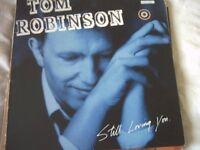 Vinyl LP Tom Robinson Still Loving You Castaway Records - ZT 71129 1986