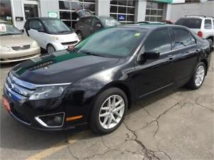 2012 FORD FUSION SEL AWD   LEATHER   ROOF    V6     HTD SEATS