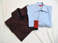 AUTHENTIC HUGO BOSS 2 Casual Shirts NEW 1 tagged 1 without Tag ~ Size M