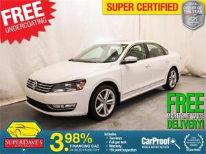 2014 Volkswagen Passat 1.8T Highline *Warranty*