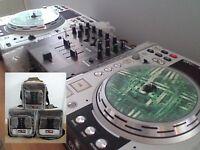 DENON DN-S3500 CD MP3 DECKS PACKAGE