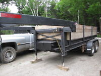 Dump Trailer-fifth wheel 14 x 6-each axle 6500 lbs.All new tires
