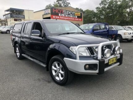 2014 Nissan Navara D40 S6 MY12 ST Blue 5 Speed Automatic 4D UTILITY Greystanes Parramatta Area Preview