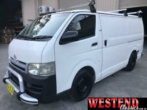 2005 Toyota Hiace KDH200R LWB White 5 Speed Manual Van Lisarow Gosford Area Preview