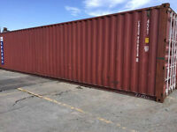 40 FT SHIPPING CONTAINERS FOR SHIPPING OR STORAGE ETC