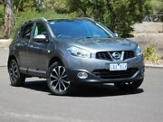 2013 Nissan Dualis J10W Series 4 MY13 Ti-L Hatch X-tronic 2WD Grey 6 Speed Constant Variable Fawkner Moreland Area Preview