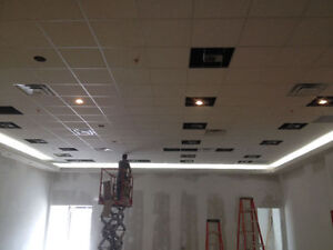 *Framing*Drywalling*Taping*Painting*Drop Ceiling Installations*