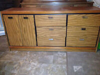 Solid Wood 9 Drawer Dresser with Mirror Forsale