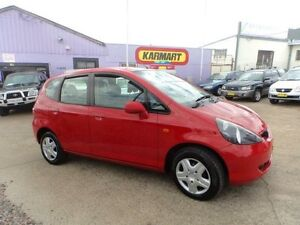 2004 Honda Jazz GLi Red 5 Speed Manual Hatchback North St Marys Penrith Area Preview