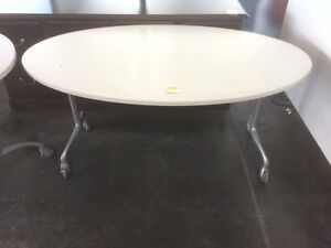 Used Round Mobile Table (Larger Size)