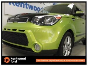 2015 Kia Soul EX GDI with heated seats and a bright lime green