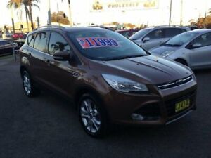 2013 Ford Kuga TE Trend Bronze 5 Speed Automatic Wagon Broadmeadow Newcastle Area Preview