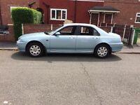 Rover 75 diesel 2001 long mot