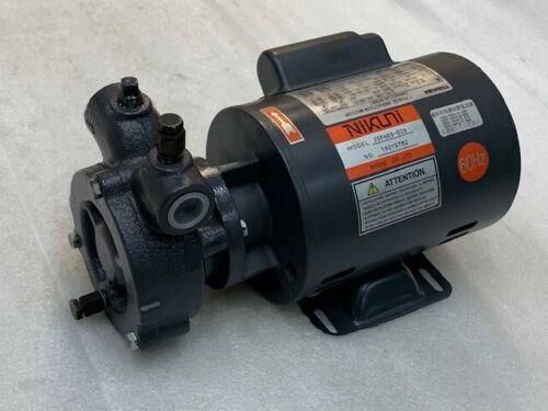 Nikuni 20FHD6-02S Regenerative Turbine Pump 1 PH AC100/200V 60Hz Motor New