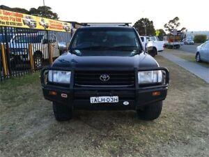 2001 Toyota Landcruiser FZJ105R GXL Black Automatic Wagon Ingleburn Campbelltown Area Preview
