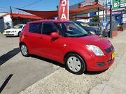 2009 Suzuki Swift RS415 Red 5 Speed Manual Hatchback Lidcombe Auburn Area Preview