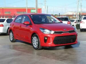 2018 Kia Rio YB MY18 S Red 4 Speed Automatic Hatchback Brendale Pine Rivers Area Preview
