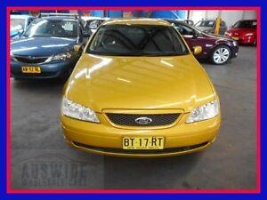 2003 Ford Falcon BA Futura Yellow 4 Speed Sports Automatic Sedan Villawood Bankstown Area Preview